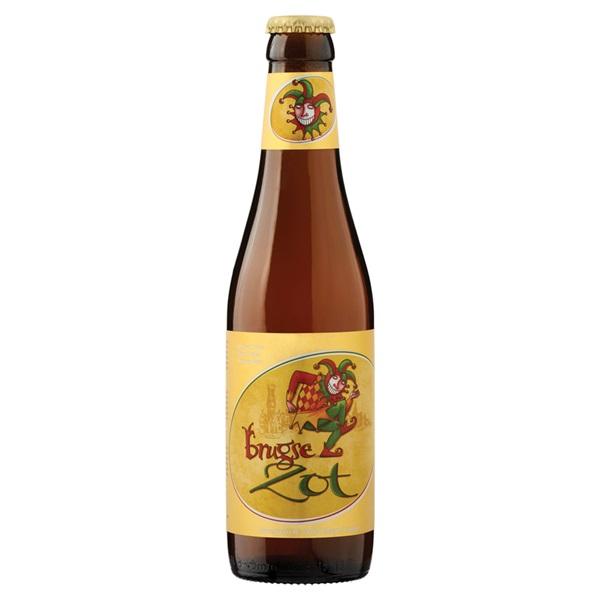 Brugse zot Blond Speciaalbier Fles 33 Cl voorkant
