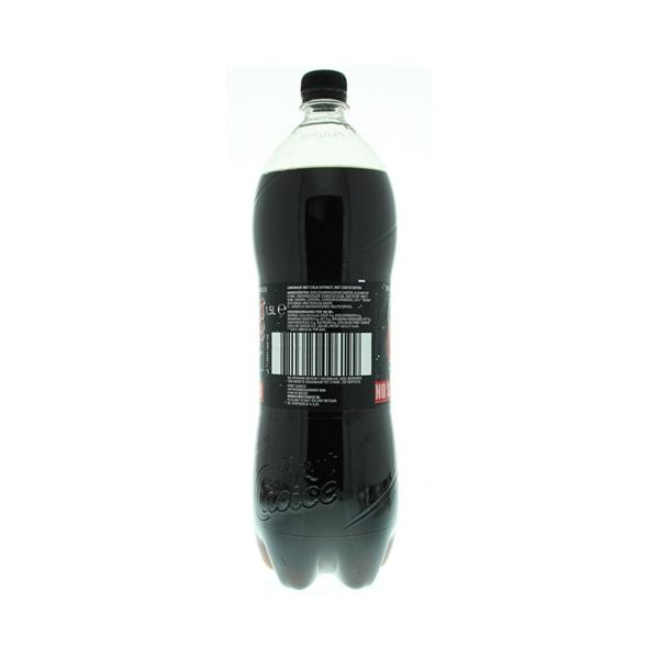 First Choice Cola No Sugar achterkant