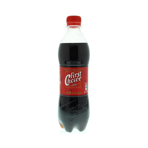 First Choice Cola Regular voorkant