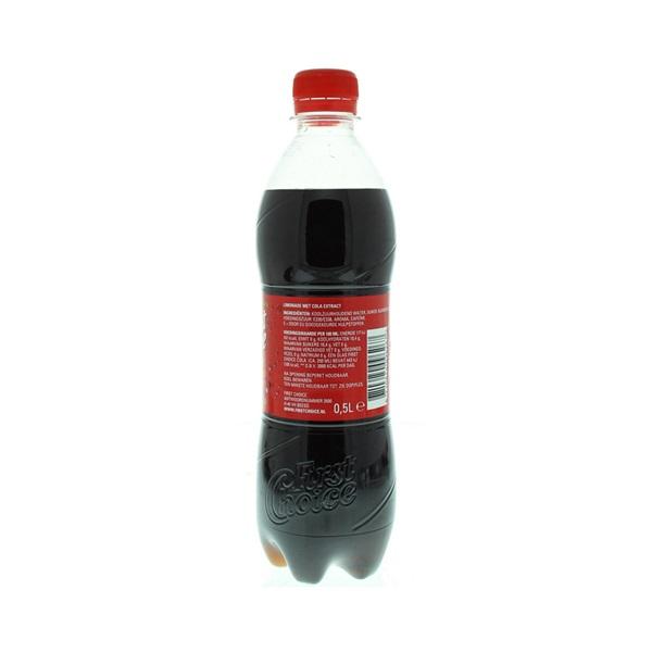 First Choice Cola Regular achterkant