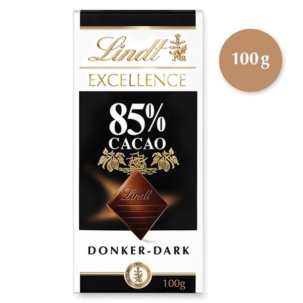 Lindt Excellence Noir Chocolade Puissant 85% voorkant
