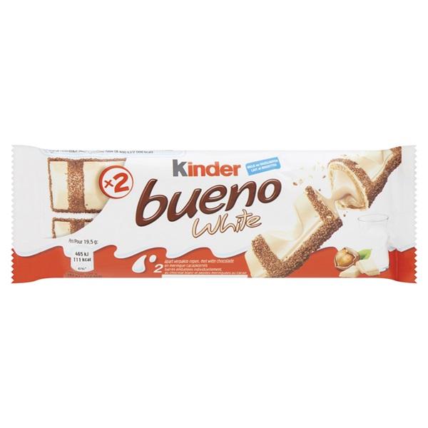 Kinder Chocolade Bueno White voorkant
