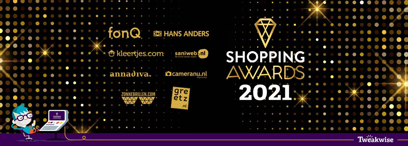 Tweakwise klanten zijn grote winnaars op de Shopping Awards 2021
