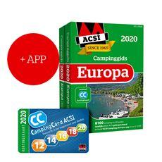 ACSI CAMPINGGIDS EUROPA 2020 + APP