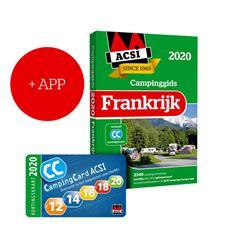 ACSI CAMPINGGIDS FRANKRIJK 2020 + APP