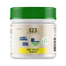 123 BIO TOILET TABLET 20ST.