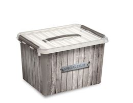 SUNWARE BOX 22L DECOR HOUT