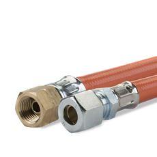 GIMEG GASSLANG PVC 1/4 INCH LINKS X 8/10 60CM