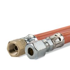 GIMEG GASSLANG PVC 1/4 INCH LINKS X 6/8 60CM