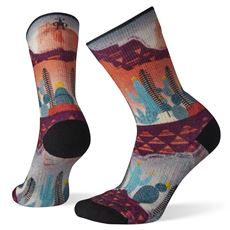 SMARTWOOL PHD OUTDOOR LIGHT PRINT CREW DAMES