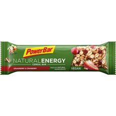 POWERBAR NATURAL ENERGY BAR STRAWBERRY & CRANBERRY