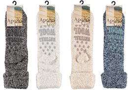 APOLLO NATURAL WOOL SOCK DAMES