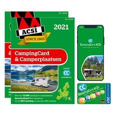ACSI CAMPINGCARD + CAMPERPLAATSEN 2021