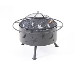 S&S IMPORT-EXPORT MOON AND STARTS FIREPIT