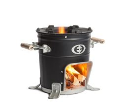 COOX ROCKET STOVE BLACK