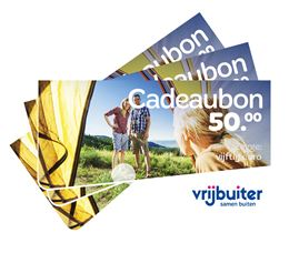 VRIJBUITER OUTDOOR CADEAUBON 50,-