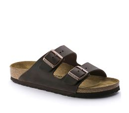 BIRKENSTOCK ARIZONA LEREN SLIPPERS HEREN