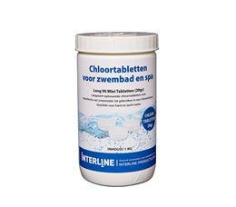 INTERLINE CHLOORTABLETTEN 1 KG ORGANISCH (20GR)