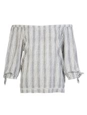 PROTEST ROUNDS BLOUSE KORTE MOUW DAMES