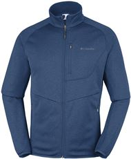 COLUMBIA DRAMMEN POINT FULL ZIP FLEECEVEST HEREN