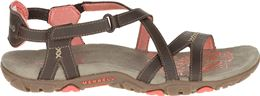 MERRELL SANDSPUR ROSE LEATHER SANDALEN DAMES
