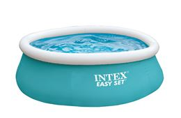 INTEX EASY SET POOL OPBLAASZWEMBAD