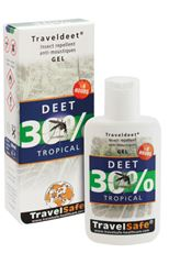 TRAVELSAFE DEET30% GEL