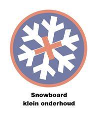 DR. WAX SNOWBOARD KLEIN ONDERHOUD