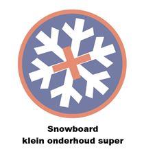 DR. WAX SNOWBOARD KLEIN ONDERHOUD SUPER