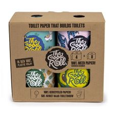 THE GOOD ROLL 4-PACK TOILETPAPIER