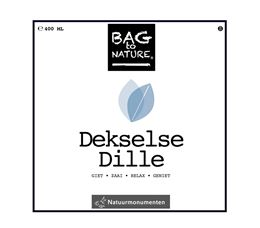 BAG TO NATURE DEKSELSE DILLE