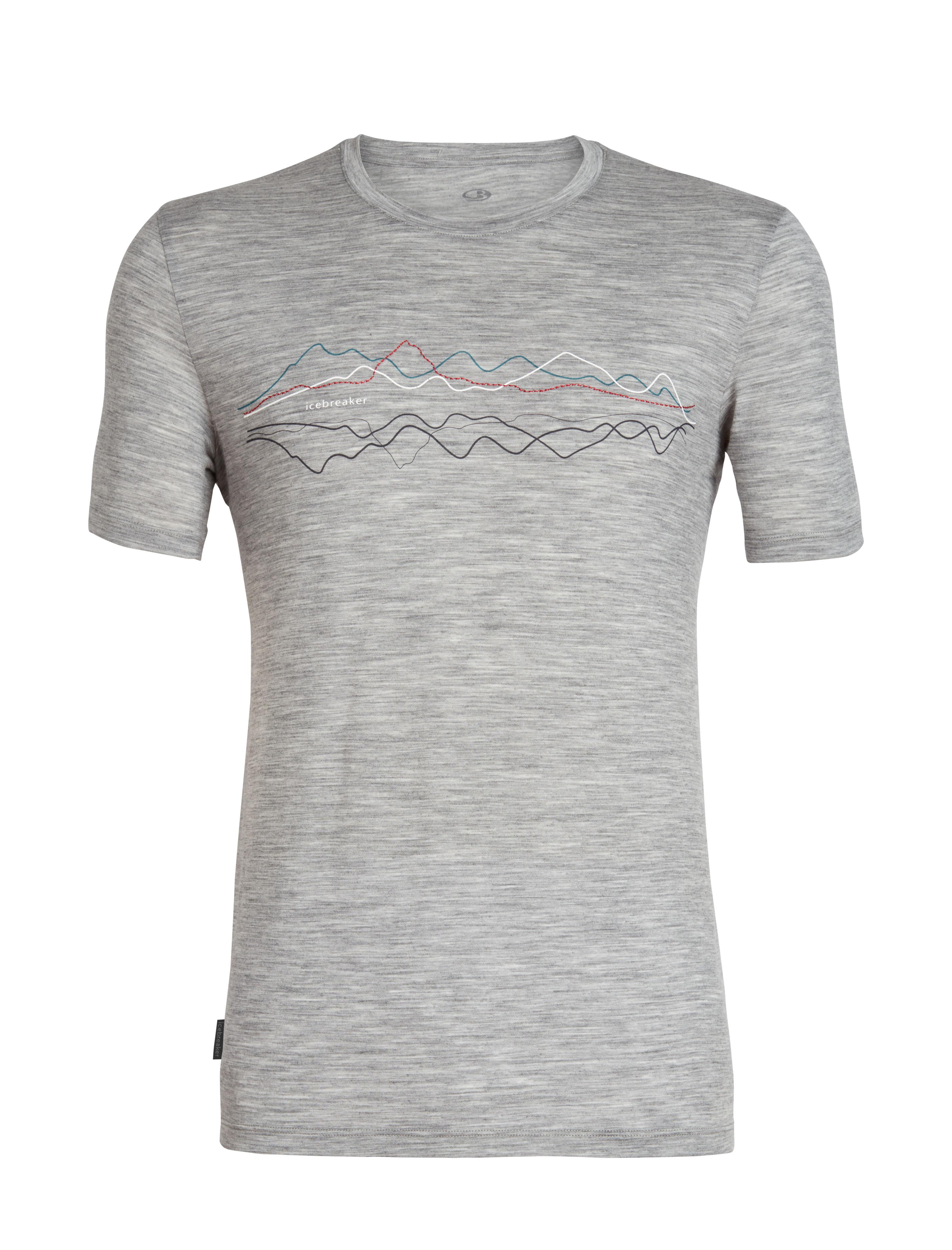 Icebreaker Tech Lite Ss Crewe T-shirt Heren