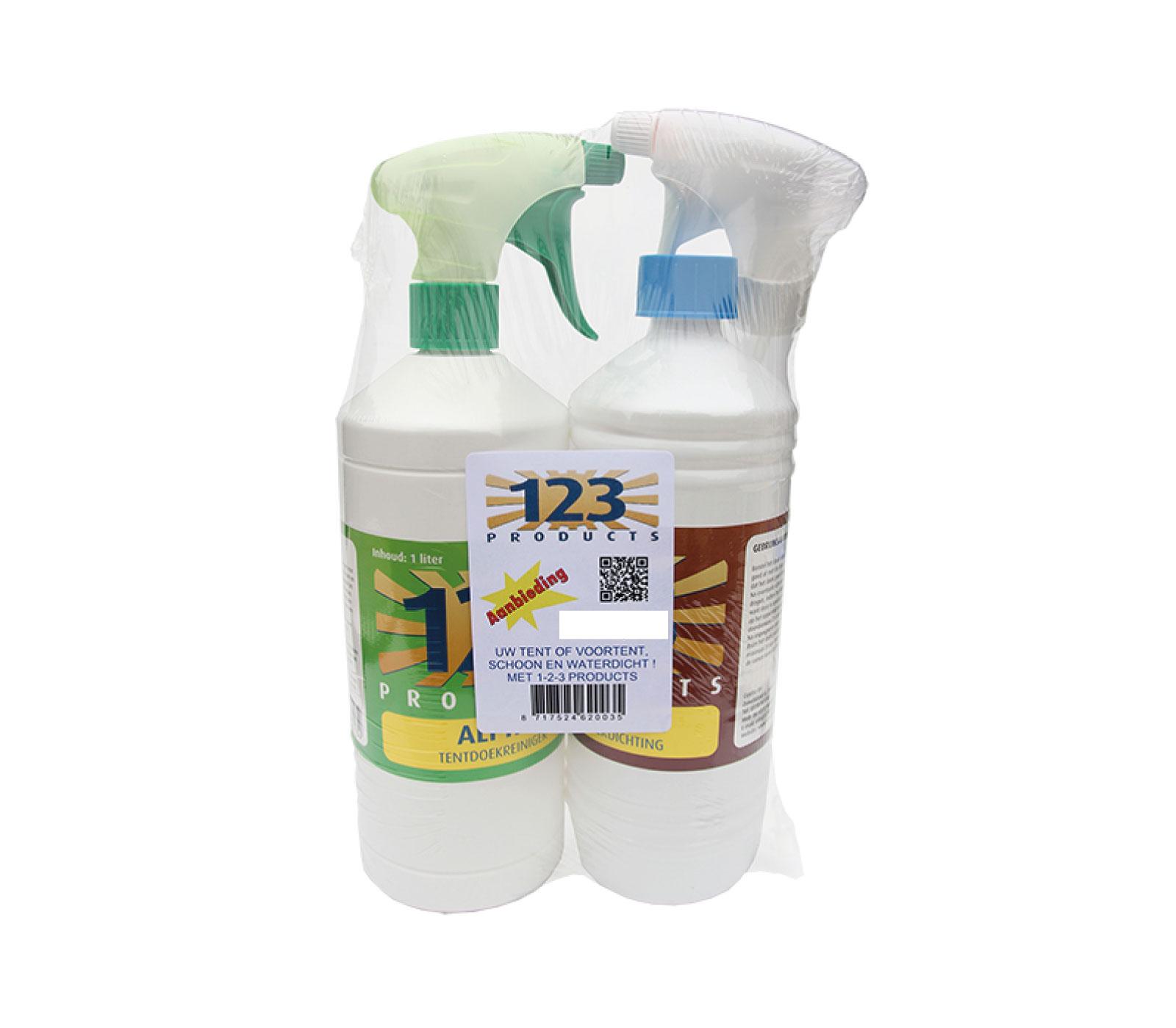 123 Alpha Pakket Dry