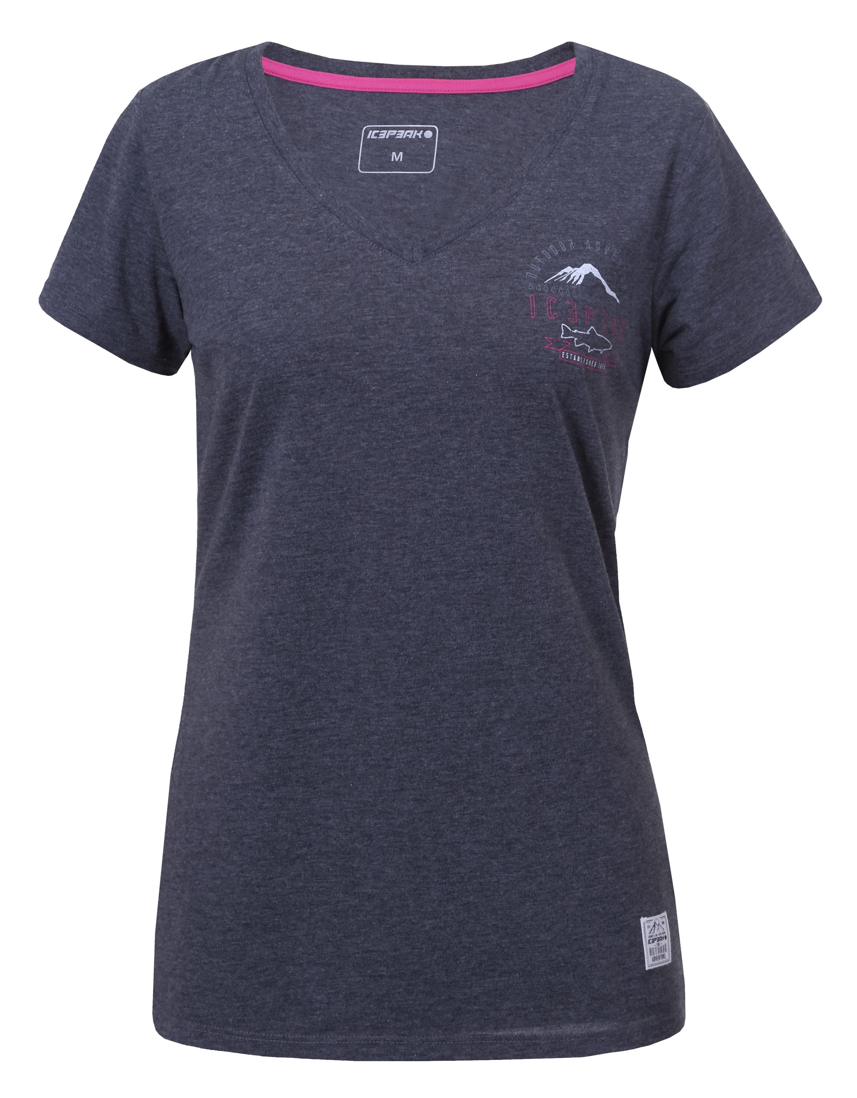Icepeak Sharis Shirt Met Korte Mouwen Dames