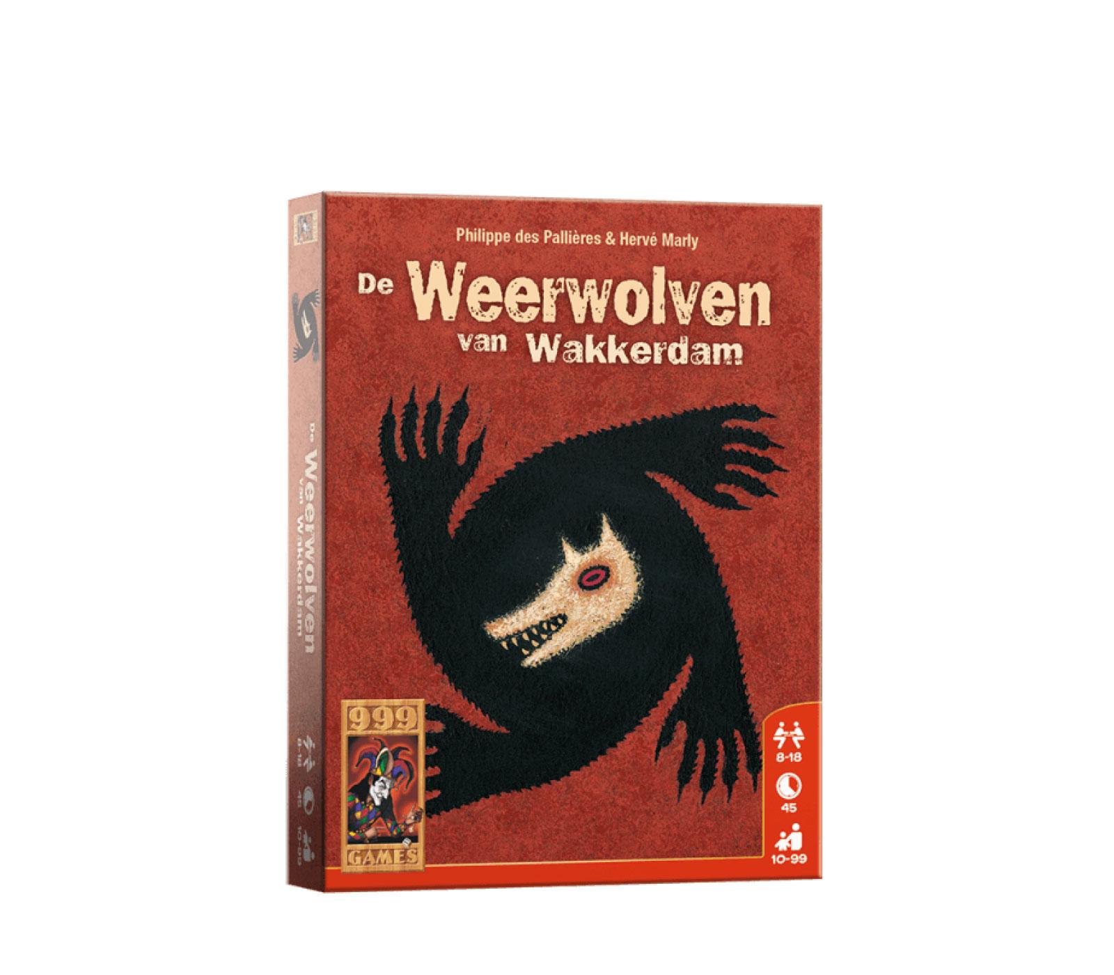 999 Games De Weervolven Van Wakkerdam