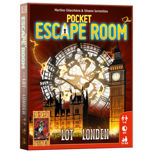 999 Games Pocket Escape Room Het Lot Van Londen