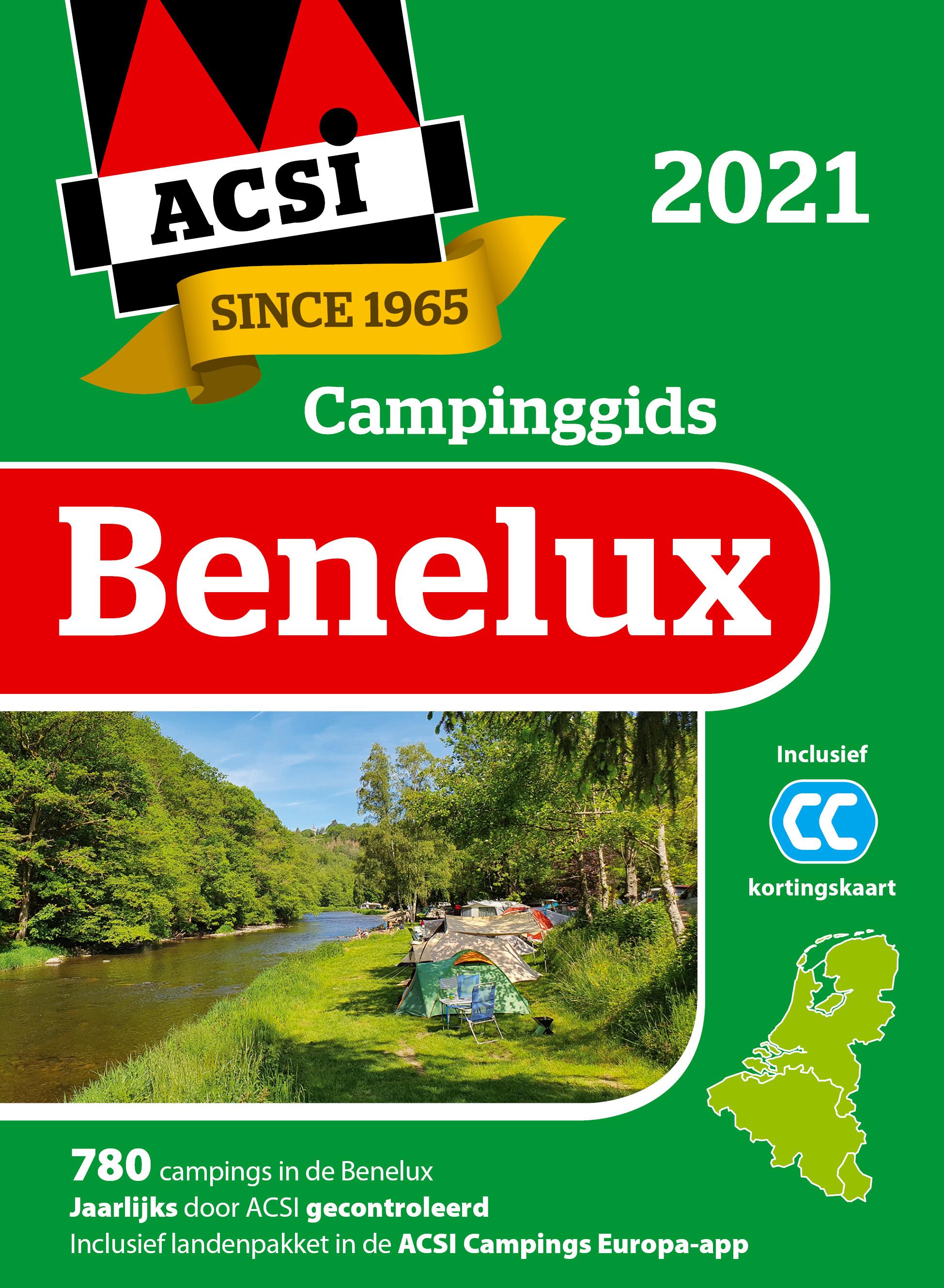 Acsi Campinggids Benelux 2021 + App