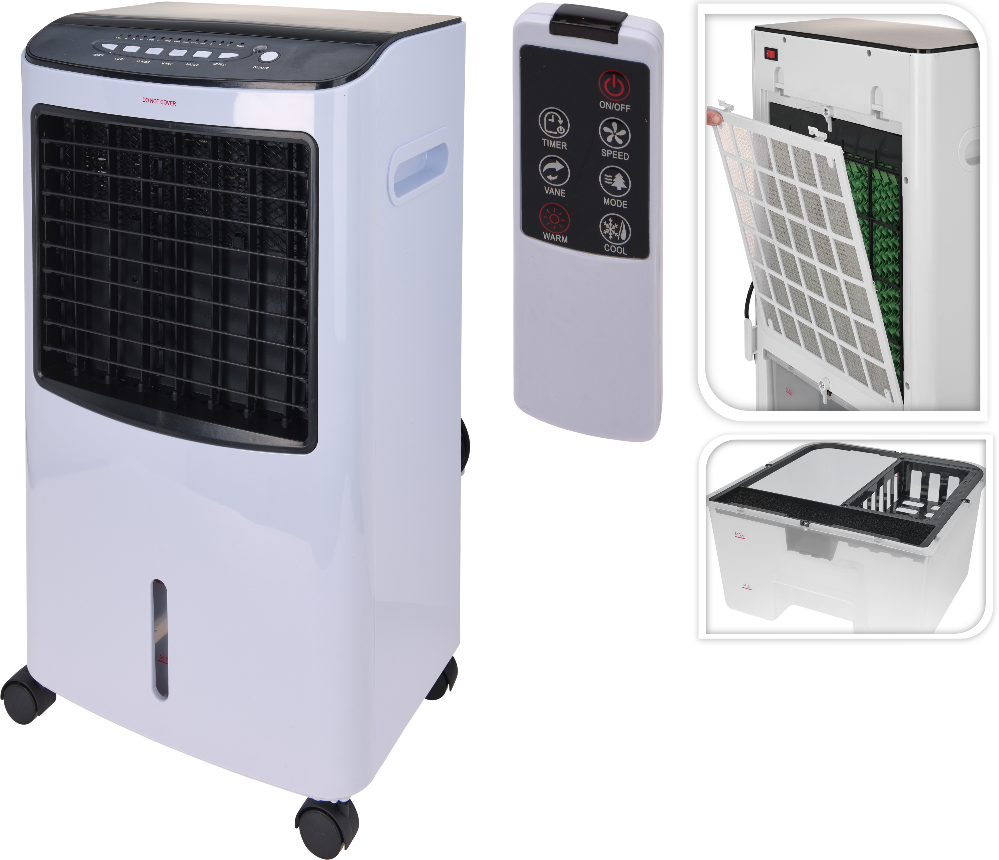 Ambiance Aircooler En Verwarming