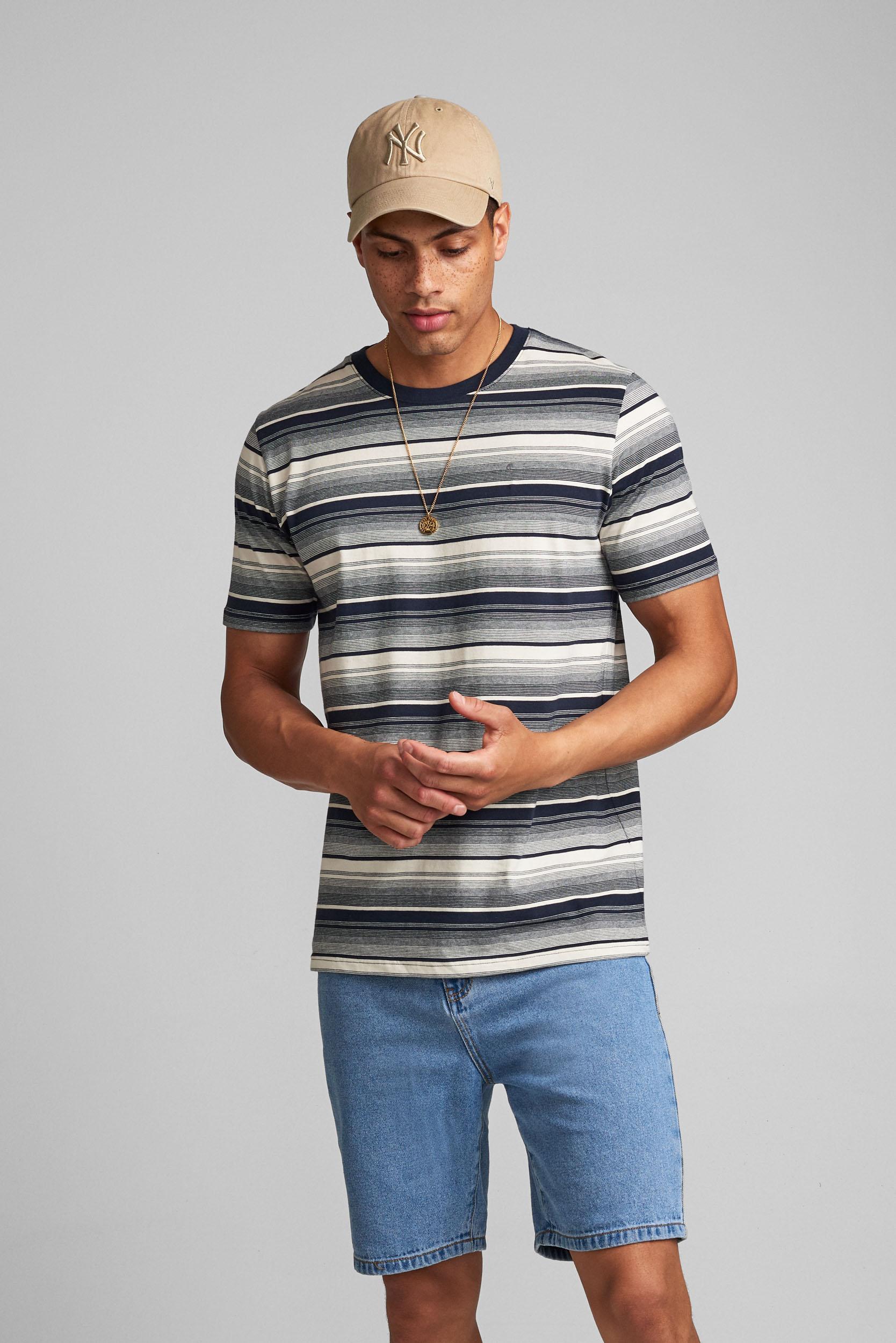 Anerkjendt Shirt Akrod Stripe Heren