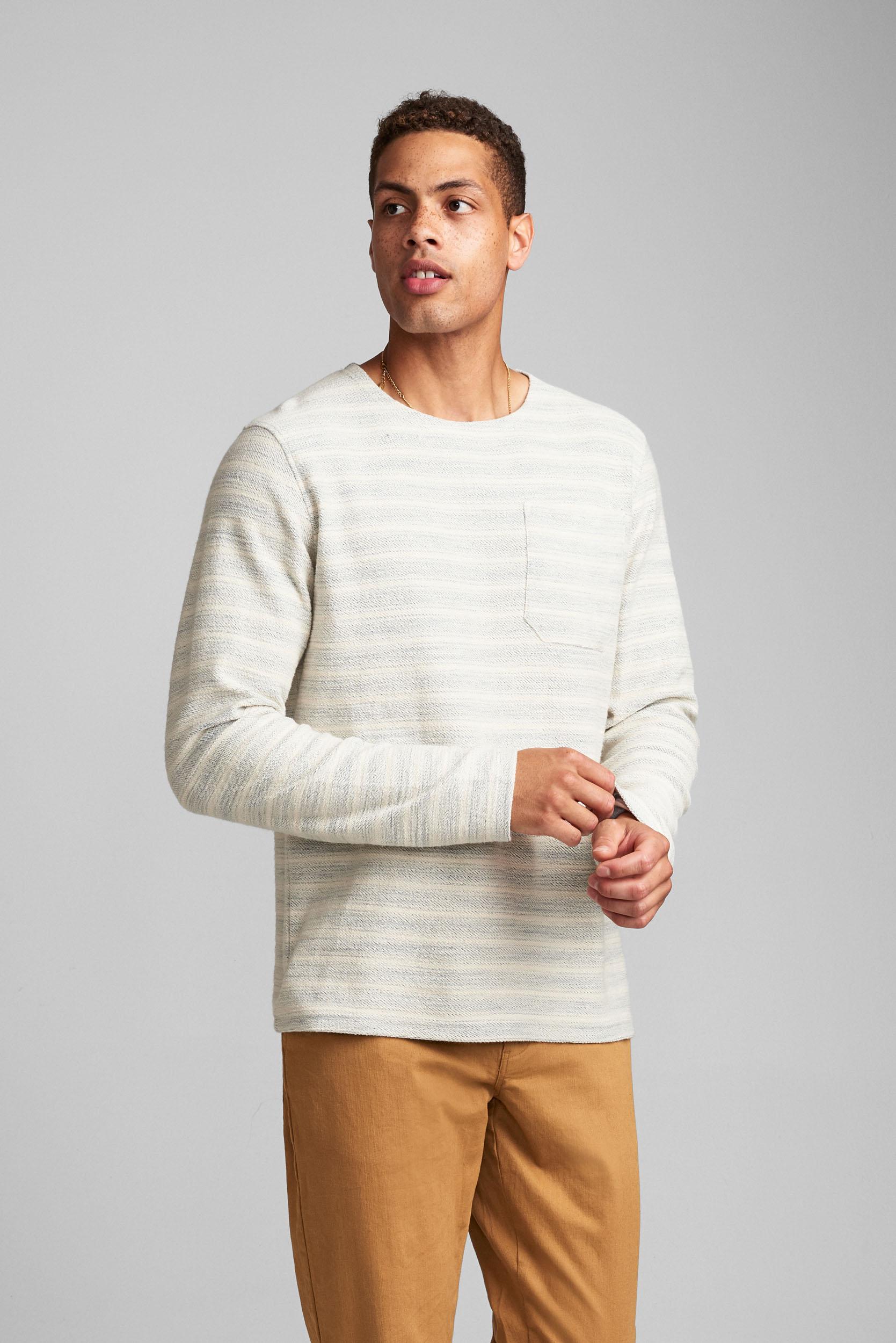Anerkjendt Shirt Aksail Ls Stripe Heren