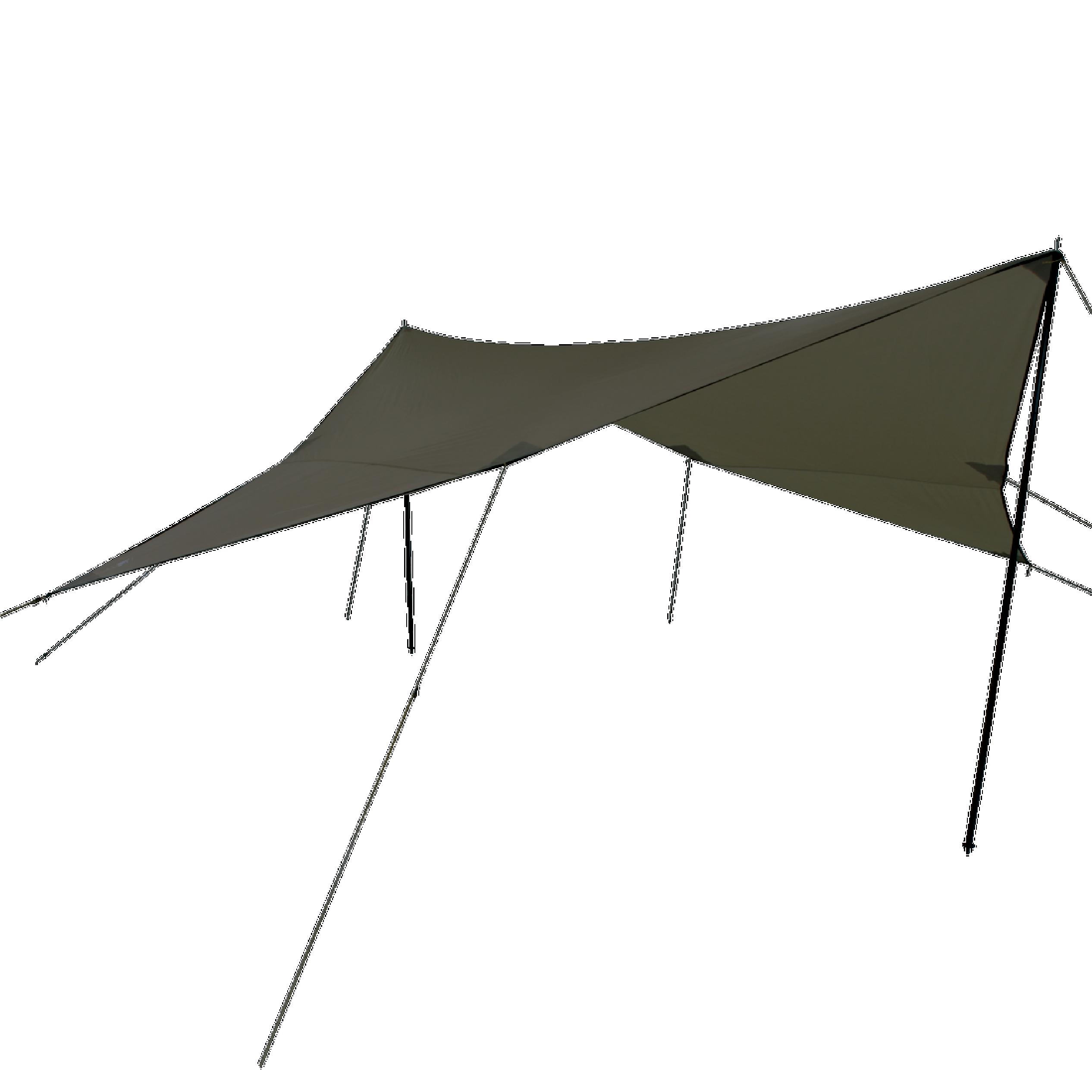 Campguru Tarp Polyester 3x3