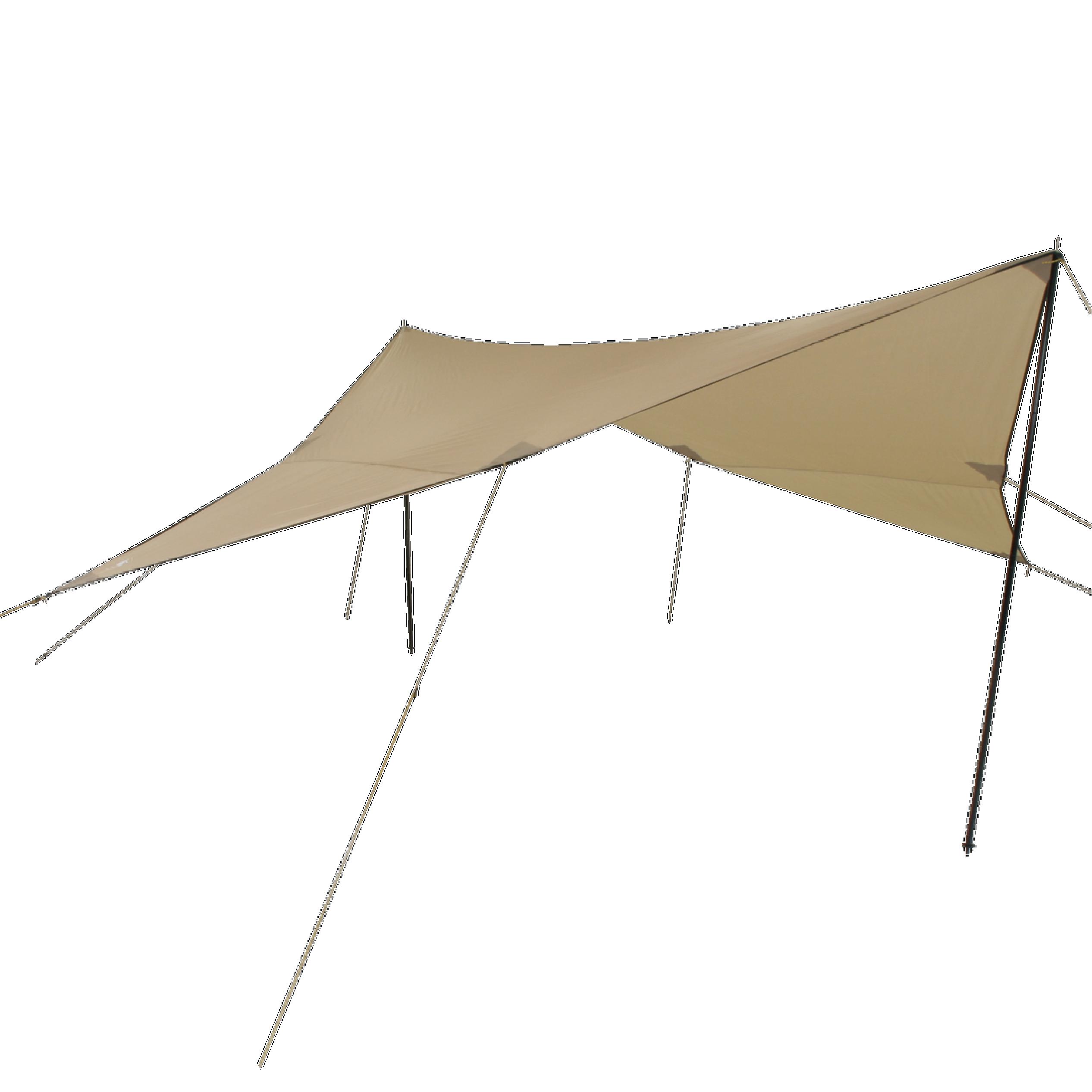 Campguru Tarp Polyester 4x4