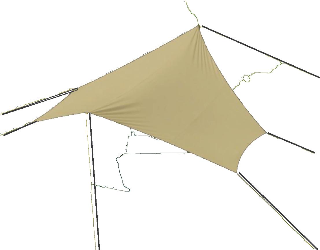 Campguru Tarp Tc Wing 4x4,4