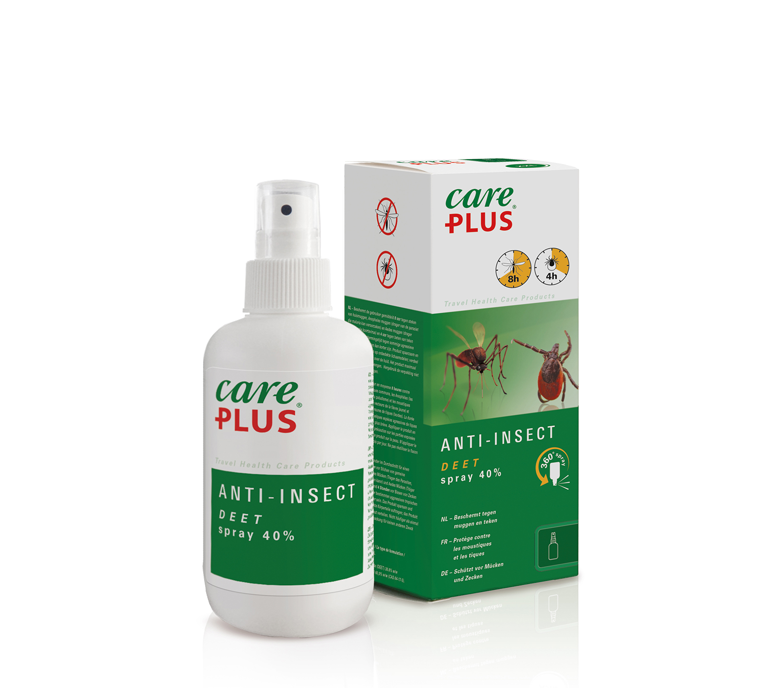 Care Plus Deet Anti-insect Spr 40% 200ml