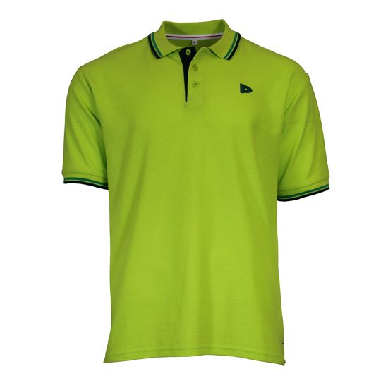 Donnay Polo Pique Tipped Heren