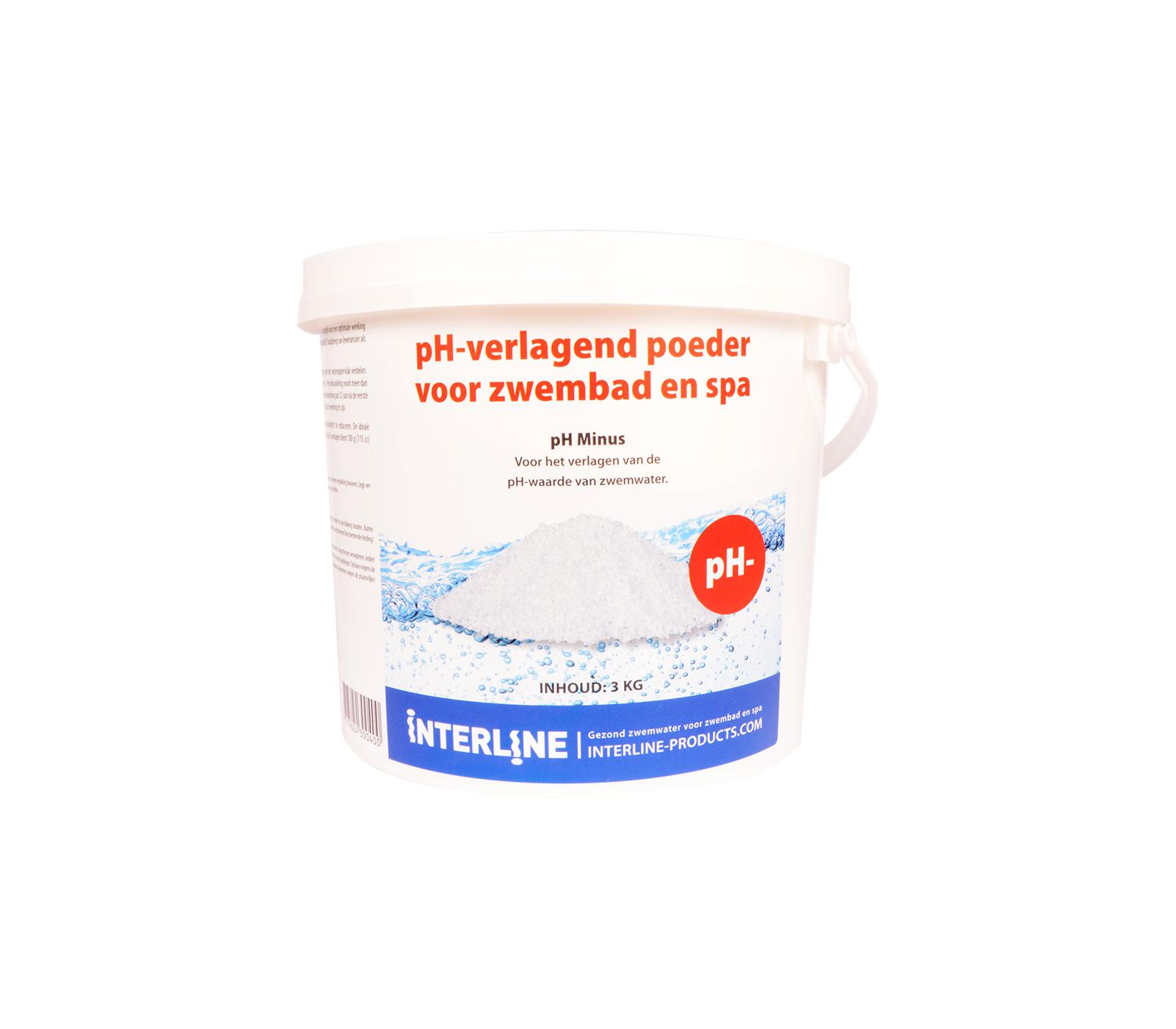 Interline Ph-min 3 Kg Voor Verlagen Ph Waarde