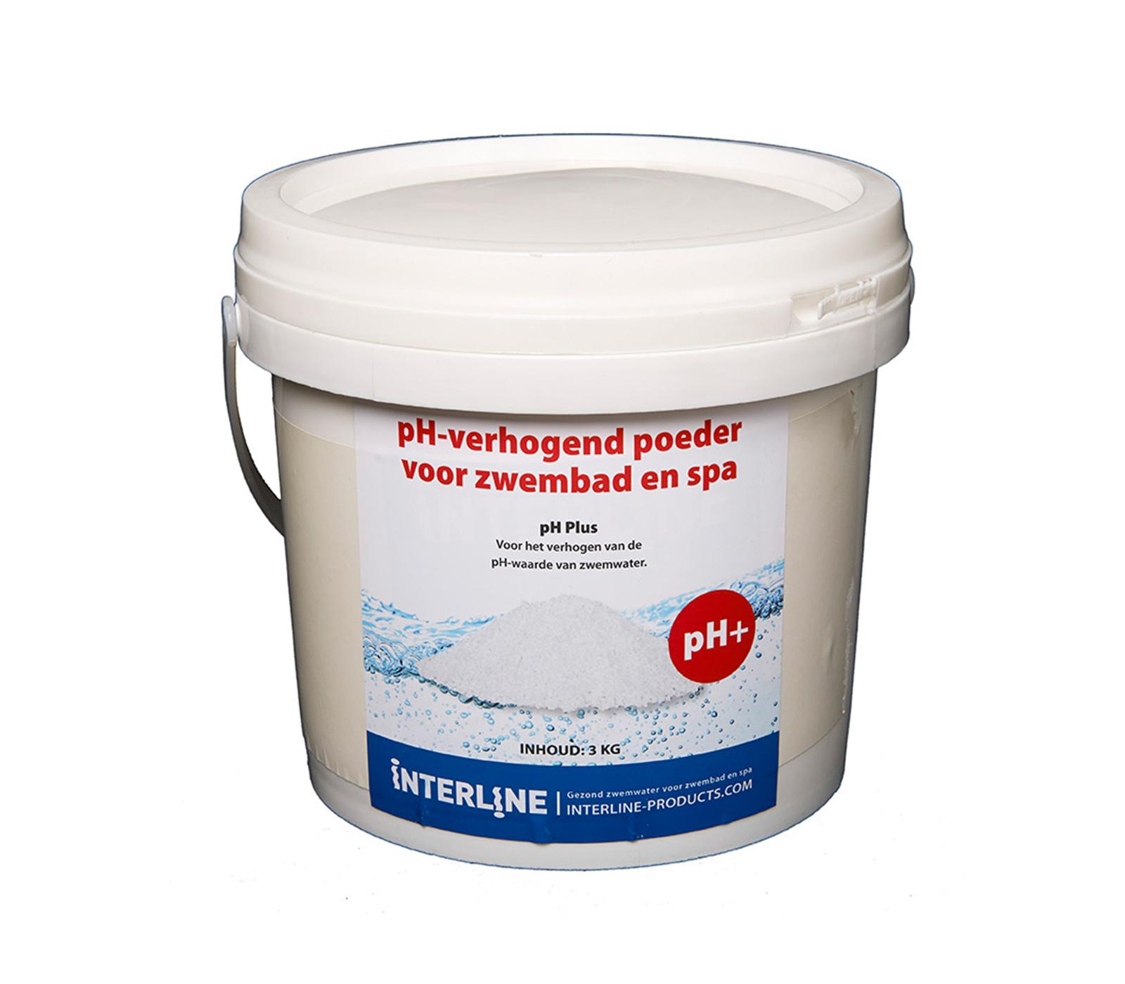 Interline Ph-plus 3 Kg Voor Verhogen Ph Waarde