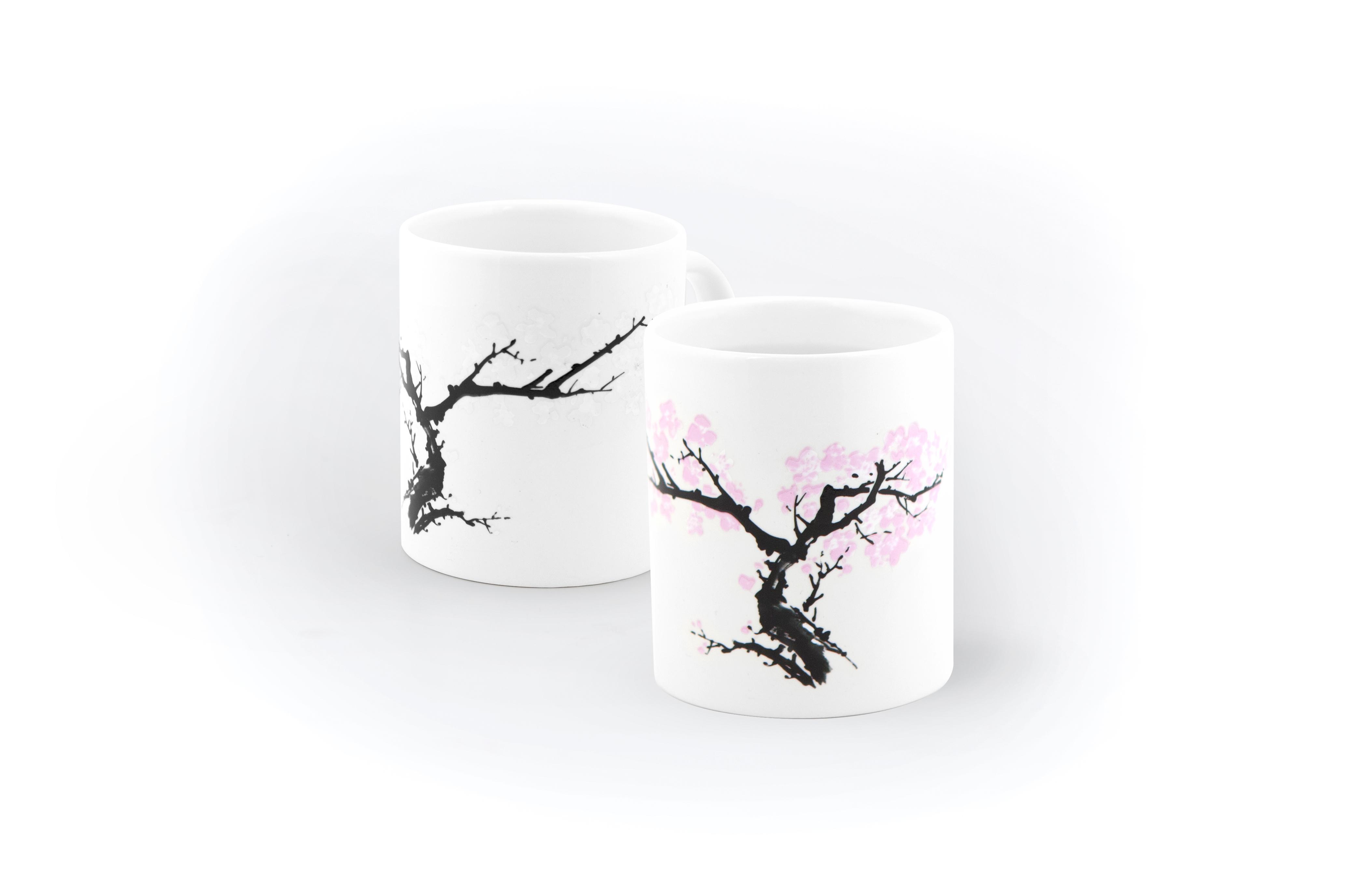 Kikkerland Morph Mug Cherry Blossom