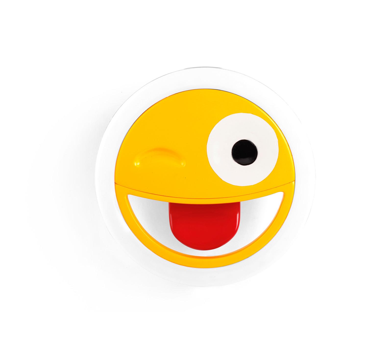 Kikkerland Emoji Selfie Light