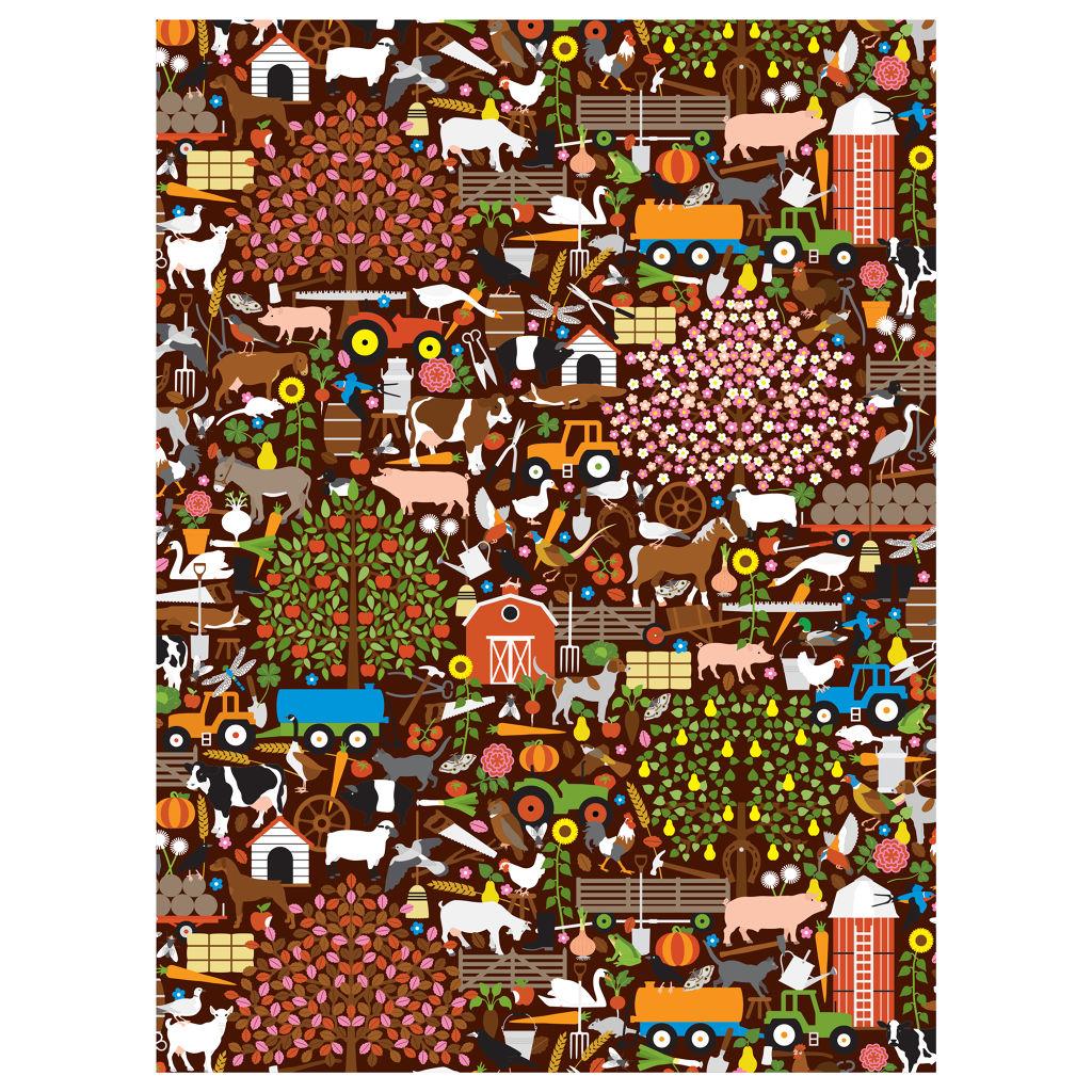 Kikkerland Farm Puzzle